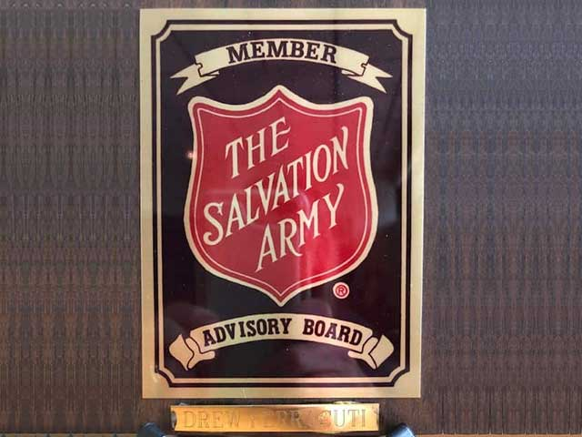 Member of the Salvation Army Advisory Board